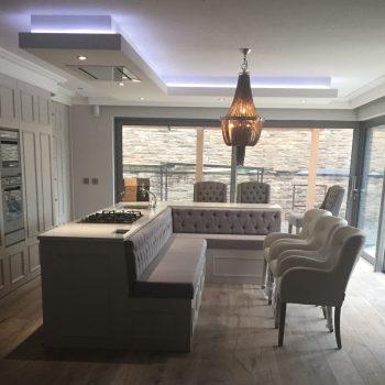 Bespoke handpainted kitchen Donegal