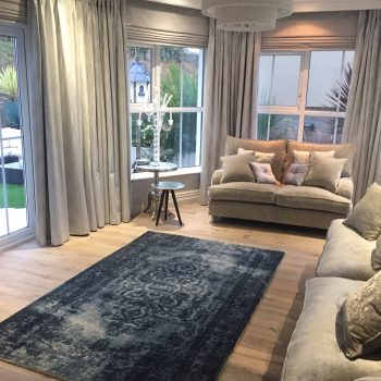 Custom made curtains, blinds and sofas