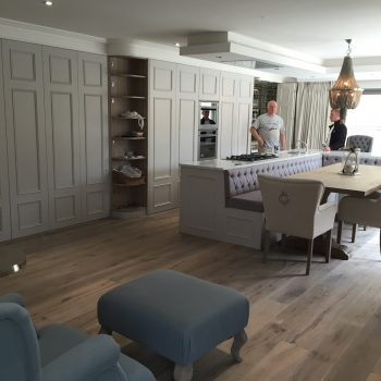 Bespoke hand painted kitchen Donegal